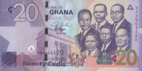 Ghana 20 cedis 