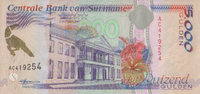 Suriname 5.000 Gulden 