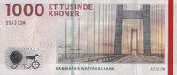 1.000 Kronen 2011 Dänemark Pick 69a unc  220,00 EUR  +  6,50 EUR shipping