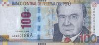 100 Nuevos Soles  Peru Pick 185 unc  60,00 EUR