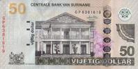 50 Gulden  Suriname Pick 160b unc/kassenfrisch  35,00 EUR  zzgl. 4,50 EUR Versand