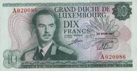 10 Francs  Luxemburg Pick 53a unc/kassenfrisch  14,50 EUR  zzgl. 3,95 EUR Versand