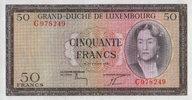 50 Francs  Luxemburg Pick 51a unc  90,00 EUR  +  6,50 EUR shipping