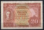 20 Cents  Malaya P 9a 1/1-  130,00 EUR