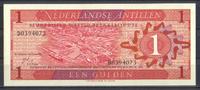 1 Gulden 08.9.1970 Niederlaendische Antillen Pick 20a unc/kassenfrisch  1,50 EUR  zzgl. 3,95 EUR Versand