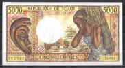 5.000 Francs  Chad Pick 11 unc  149,00 EUR  zzgl. 4,50 EUR Versand