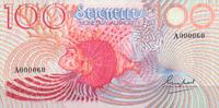 100 Rupees ND(1979) Seychellen Pick 26a unc  115,00 EUR  +  6,50 EUR shipping