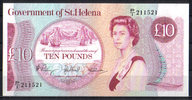 St.Helena 10 Pounds ND(1979) unc  67,00 EUR