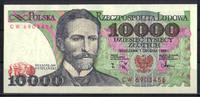 10.000 Zlotych 1988 Polen Pick 151b unc/kassenfrisch  5,00 EUR
