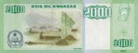 2.000 Kwanzas 2011 Angola Pick 151b unc  60,00 EUR