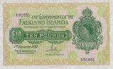 10 Pounds 01.1.1982 Falkland-Island Pick 11b unc  1000,00 EUR free shipping