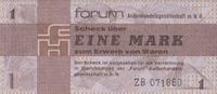 1 Mark 1979 Forum-Außenhandelsgesellschaft Ros.368b unc/kassenfrisch  100,00 EUR
