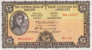 Irland-Repubilk 5 Pounds 10.1.1975 unc  295,00 EUR