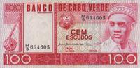 100 Escudos 20.1.1977 Cabo Verde Pick 54a unc/kassenfrisch  9,50 EUR  +  6,50 EUR shipping
