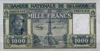 1.000 Francs 19.01.1945 Belgien Pick 128b 1/1-  300,00 EUR