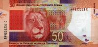 50 Rand (2012) Süd-Afrika Pick 135 unc/kassenfrisch  10,00 EUR  zzgl. 3,95 EUR Versand