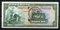 20 Mark 1948 Bank Deutscher Länder  2  125,00 EUR  zzgl. 4,50 EUR Versand