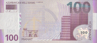 100 Manat  Azerbaijan Pick 30 unc  165,00 EUR  +  6,50 EUR shipping