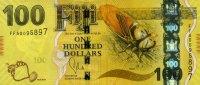 100 Dollars 2013 Fiji-Insel Pick 119 unc  90,00 EUR