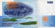 1.000 Francs 2006/2012 Komoren Pick 16 unc/kassenfrisch  5,00 EUR  +  6,50 EUR shipping