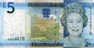 5 Pounds 2010 Jersey Pick 33a unc/kassenfrisch  14,00 EUR  +  6,50 EUR shipping