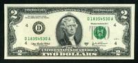 2 Dollars Serie 2003 A USA Pick 513b-D unc  4,00 EUR