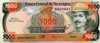 5.000 Cordobas ND(1988) Nicaragua Pick 157 unc/kassenfrisch  3,00 EUR  +  6,50 EUR shipping