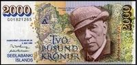 2.000 Kronur 05.5.1986 Island Pick 57a unc/kassenfrisch  69,00 EUR  +  6,50 EUR shipping