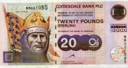 20 Pounds 01.1.2000 Clydesale Bank  PLC Pick 229B unc  100,00 EUR  +  6,50 EUR shipping