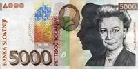 5.000 Tolarjew 15.1.2002 Slowenien Pick 33a unc/kassenfrisch  70,00 EUR  zzgl. 4,50 EUR Versand