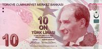 10 Lira 2009 Türkei Pick 223 unc/kassenfrisch  7,95 EUR  +  6,50 EUR shipping