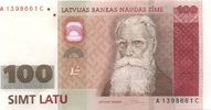 100 Latu 2007 Lettland Pick 57 unc/kassenfrisch  260,00 EUR  +  6,50 EUR shipping