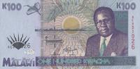 100 Kwacha  Malawi Pick 34 unc  51,00 EUR  +  6,50 EUR shipping