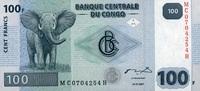 100 Francs 31.7.2007 Congo-Dem.Republik Pick 98 unc/kassenfrisch  1,00 EUR  +  6,50 EUR shipping