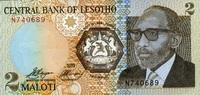 2 Maloti 1989 Lesotho Pick 9a unc/kassenfrisch  2,50 EUR