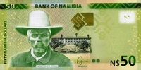 50 Namibia-Dollars 2012 Namibia Pick 13a unc/kassenfrisch  12,00 EUR  +  6,50 EUR shipping