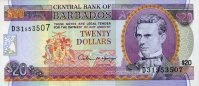 Barbados 20 Dollars ND(1996) unc  51,00 EUR