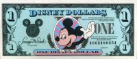 USA -Disney 1 Dollar
