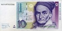 10 Mark 01.8.1991 Deutsche Bundesbank Ros.297b unc/kassenfrisch  20,50 EUR  +  6,50 EUR shipping