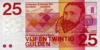 25 Gulden 10.2.1971 Niederlande Pick 92a unc/kassenfrisch  89,00 EUR  +  6,50 EUR shipping