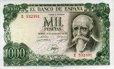 1.000 Pesetas 17.9.1971(1974) Spanien Pick 154 unc/kassenfrisch  55,00 EUR  +  6,50 EUR shipping
