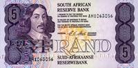 5 Rand (1990-94) Südafrika Pick 119e unc/kassenfrisch  4,50 EUR  zzgl. 3,95 EUR Versand