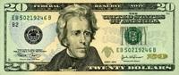 20 Dollars Serie 2004 USA Pick 521 EB unc/kassenfrisch  26,00 EUR  zzgl. 4,50 EUR Versand