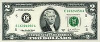 2 Dollars Serie 2003A USA Pick 516b-E unc/kassenfrisch  4,00 EUR