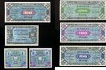 1-1.000 Mark 1944 Alliierte Besatzung *7 Werte Ros.201-207* unc/kassenf... 220,00 EUR