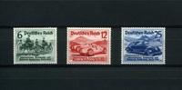 3 Werte 1939 Deutsches Reich. - 18.Mai. Nürburgring-Rennen. -   79,00 EUR  +  6,50 EUR shipping