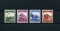 4 Werte 1935 Deutsches Reich. - 10.Juli.100. Jahre Deutsche Eisenbahn -... 38,00 EUR  +  6,50 EUR shipping