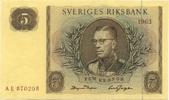 5 Kronor 1963 Schweden P.50b unc/kassenfrisch  14,00 EUR  +  6,50 EUR shipping