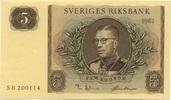 5 Kronor 1961 Schweden P.42F unc/kassenfrisch  10,00 EUR  +  6,50 EUR shipping