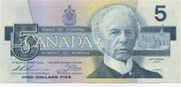 5 Dollars 1986 Canada P.95b unc/kassenfrisch  16,00 EUR  +  6,50 EUR shipping